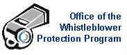 Office of the Whistleblower Protection Program Logo