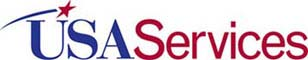Banner image for USA Services linking to home page.