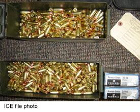 Ammo - ICE file photo