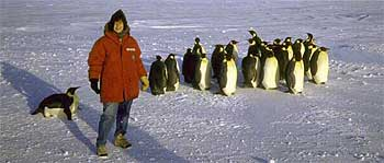 Susan Solomon while on an Antarctic expedition