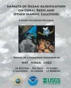 Cover of report on carbon dioxide threats to marine life