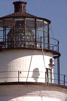 Detail of a New England Lighthouse
