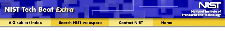 NIST TechBeat Blue/Yellow Banner