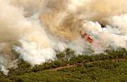 Coal Seam Fire, Glenwood Springs, Colorado,  June 2002
