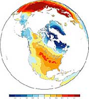 Arctic Oscillation-Related Surface Temperature Change