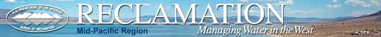 Bureau of Reclamation Mid-Pacific Region Banner