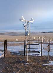 Mesonet site instruments