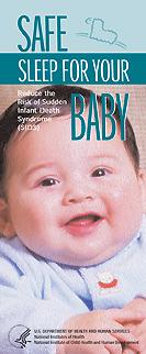 Babies Sleep Safer on Their Backs - brochure cover