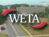 WETA logo superimposed over an image of GSFC