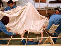 Applying the Fabric