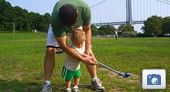 Photo: JD Playing Golf