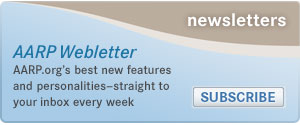 Subscribe to AARP Newsletter