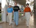 Picture of three women walking