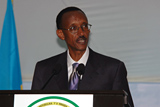 This photo gallery features images from the 2007 HIV/AIDS Implementers' Meeting, held in Kigali, Rwanda from June 16-19, 2007. Rwanda President, Paul Kagame, delivered remarks during the opening session of the meeting.