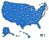 USA map image with link to Treatment Locator tool