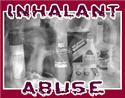 Blurred image of products used as inhalants