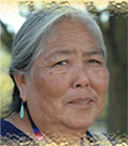 This is an image of a Native American Indian woman.