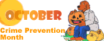 Crime Prevention Month (October) Logo