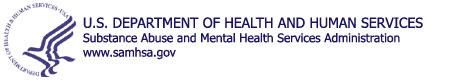 HHS Logo for SAMHSA blue