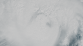 NASA's Terra satellite captures this view of Hurricane Gustav's eye. At this time the storm had weakened from a category 4 to a category 3 with winds of 115 mph and a pressure reading of 960.