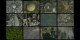 Great Zoom Mosaic:  Zoom out of twenty different locations simultaneously.