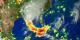 Hurricane Katrina rain accumulation for the period Aug 23 through 29