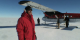As you can see from this short video, the logistics of setting foot on the Pine Island Glacier ice shelf turned out to be a real challenge and the first trip had both its ups and its downs.  Nonetheless, Bindschadler welcomes the challenge and has high hopes for what his continued research on Pine Island might uncover. <p> For a complete transcript of this video, please click <a href='PIG-firstContactTranscript.html'>here</a>