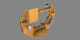 Rotating Multi-Use Lightweight Equipment Carrier (Frame sequence contains alpha channel)