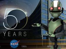 NASA 50th Anniversary Interactive Feature