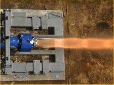 Ares ullage motor test, Sept. 2008