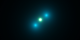 This animation zooms into a standard helium atom, showing its protons (green), its neutrons (white), and its electrons (blue).