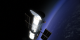The Hubble Space in orbit in its post-servicing mission 3B configuration.
