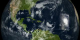 This visualization shows the progrssion of Hurricane Isabel across the Atlantic as seen by the MODIS instruments on NASA's Terra and Aqua spacecraft.