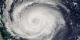 Hurricane Jeanne, September 24, 2004, Terra Satellite