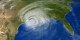 Hurricane Rita crosses the Gulf of Mexico and moves inland.