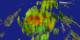 Viewing the precipitation data along the TRMM swath.