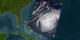 Hurricane Jeanne, September 22, 2004, Terra Satellite
