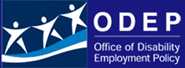 ODEP Logo: Office of Disability Employment Policy
