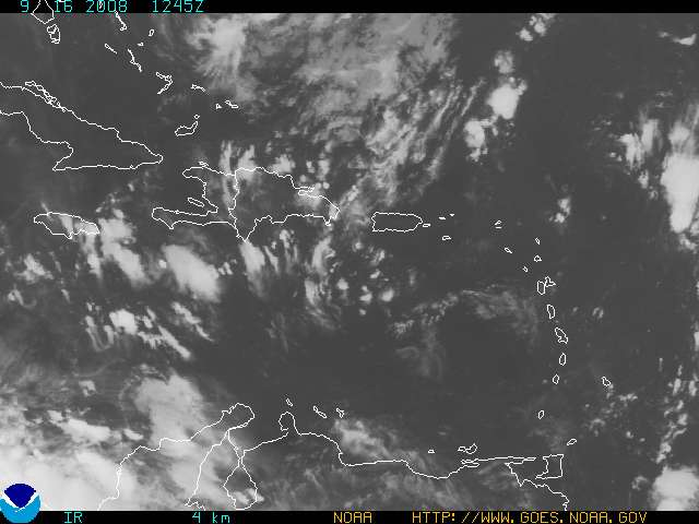 Satelite Image for Puerto Rico and U.S. Virgin Islands