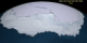 Animation of sea ice motion around Antarctica during 2005 with a date overlay.