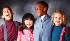 Photo of 4 smiling children