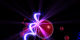 This animation shows a high-energy photon (blue coil) colliding with a free electron (red ball), which causes the release of a gamma-ray (purple flash).