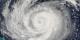 Hurricane Jeanne, September 23, 2004, Terra Satellite