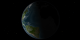 Crescent shaped Earth #1