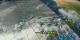 An animation of the NAMMA mission aircraft flights out of Sal, Cape Verde with satellite flight tracks indicated.