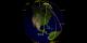 Spacecraft orbit the Earth including Terra, Aqua, and Aura (in orange)