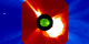 The last big X-class flare as the active region rotates back to the far side of the Sun.