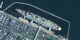 A seamless zoom from space to the ground, using data from Terra-MODIS, Landsat-ETM+, and IKONOS, and ending at the Queen Mary in Long Beach, California.