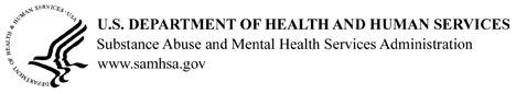 HHS Logo for SAMHSA
