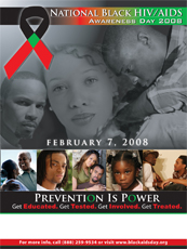 National Black HIV/AIDS Awareness Day Poster